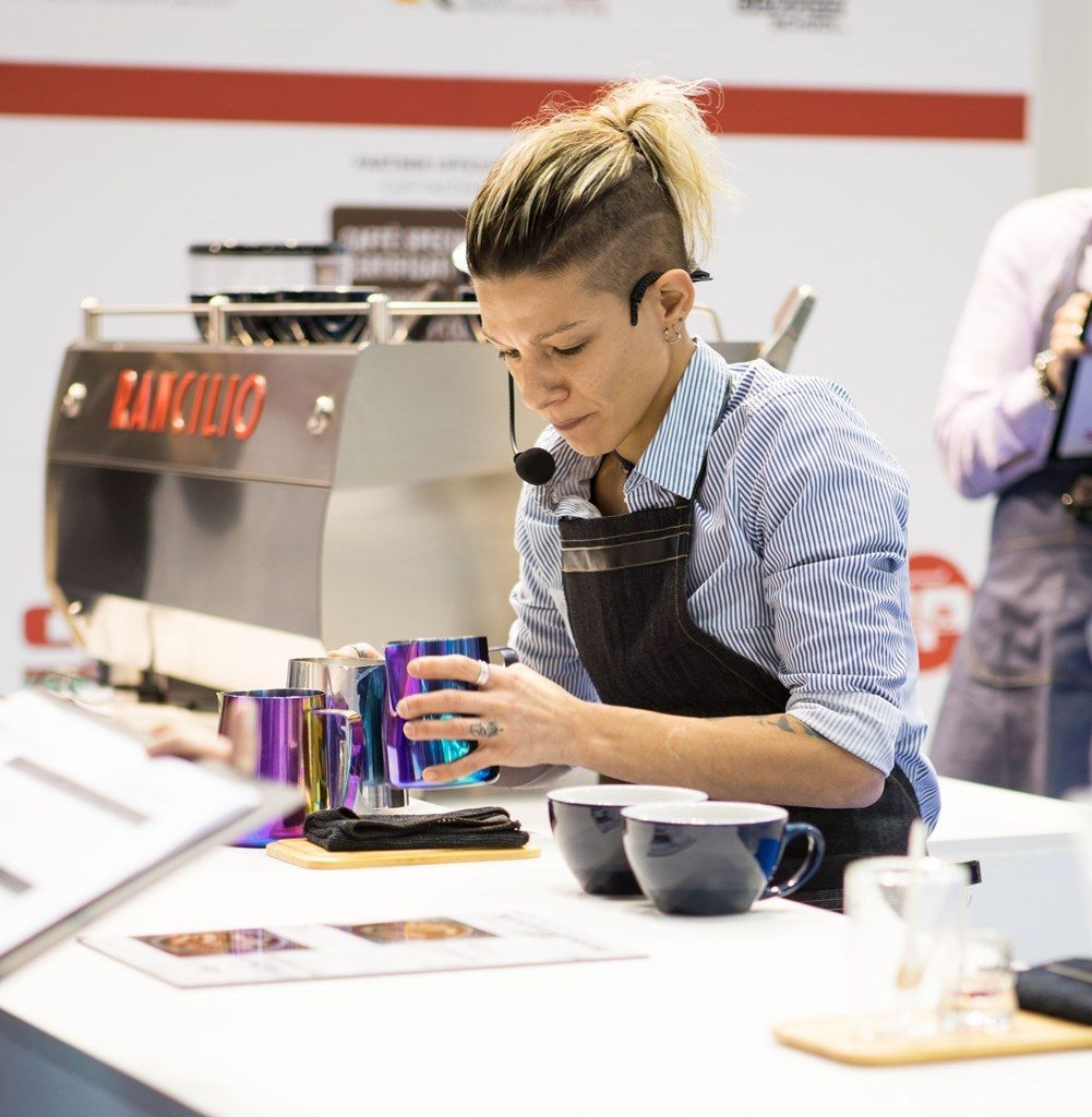 Manuela Fensore has confirmed her title as Queen of Latte Art and Marco Poidomani has won the Italian Coffee in Good Spirits Championship