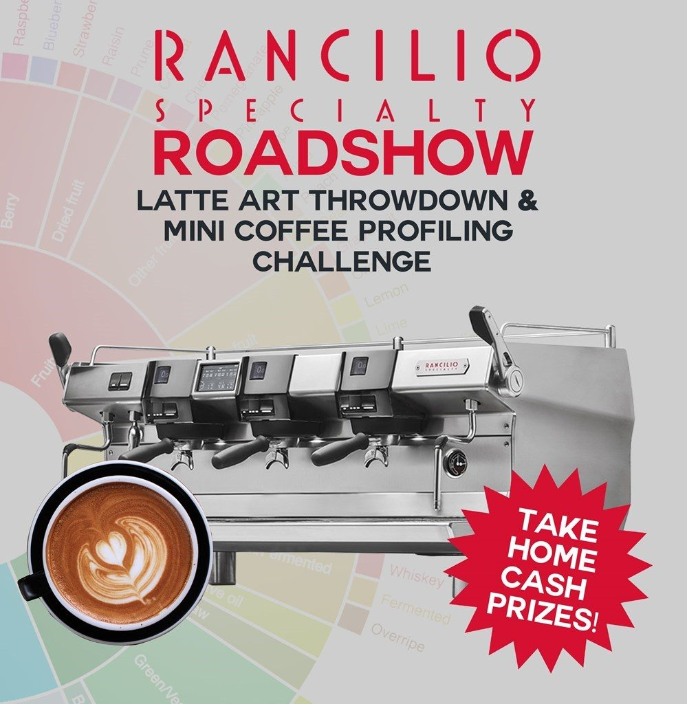 Roadshow in the Philippines for the official launch of Rancilio Specialty RS1